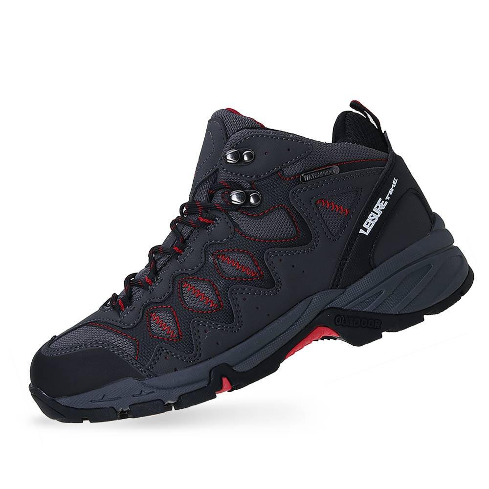 레저타임 등산화 남성 방수 트레킹화 워킹화 운동화 하이탑 신발 LTE 쿠퍼히노X