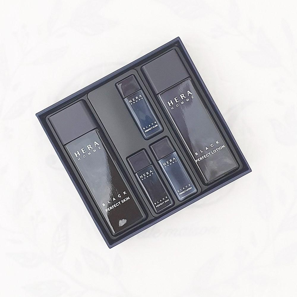 헤라 옴므 블랙 퍼펙트 2종 세트 (헤라쇼핑백제공)