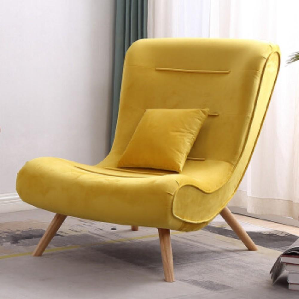 발받힘 디자이너 의자 북유럽 소파 1인용 달팽이 의자 침대 발코니 베란다 임스라운지체어 이몰라체어 이케아스트란드몬 로제까사안락의자 이케아펠로, 라텍스 단의자