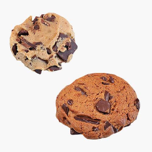 카페노리 냉동생지 - 초콜릿청크쿠키 (42.5Gx30개) 수제쿠키만들기, 30개입, 42.5g