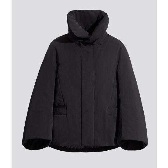 +J 질샌더 유니클로 하이브리드 다운 재킷 (블랙 네이비)