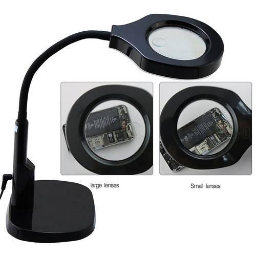BEST 9145T led 확대 램프 5d led working 확대경 돋보기 램프 툴 확대경, 상세내용참조, 상세내용참조