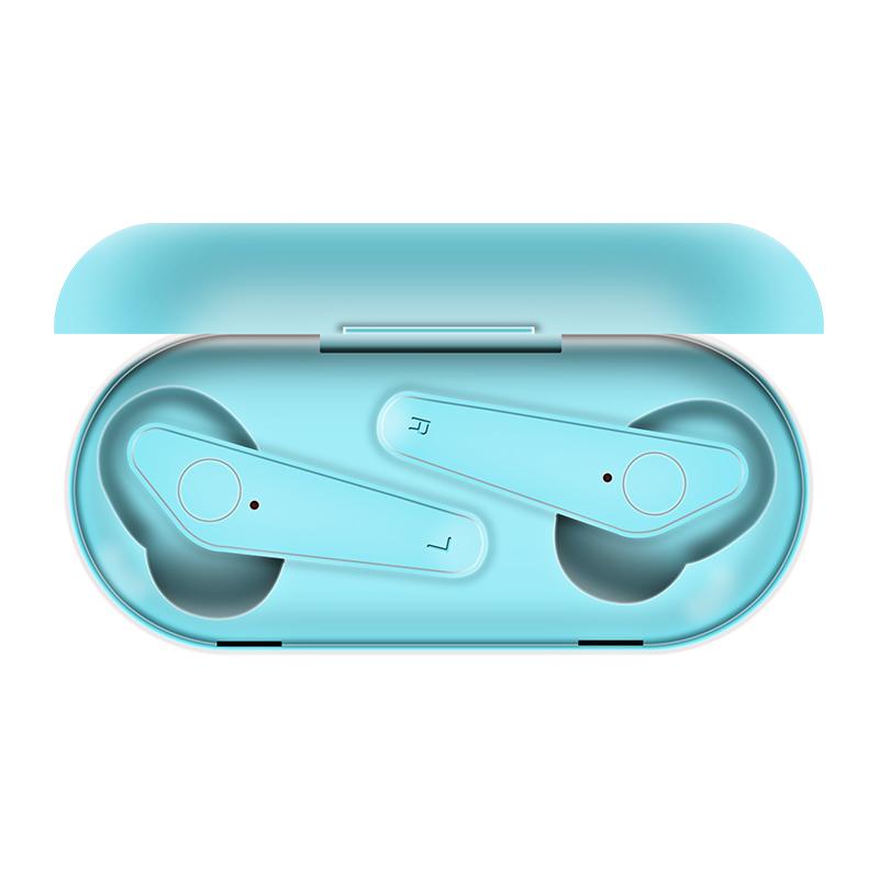 2020 최신 무선 충전 블루투스 이어폰 가성비 무선 이어폰 qcyt6 qcyt3 qcyt5s qcyt5 tws, 레이크 블루 + 공식 표준
