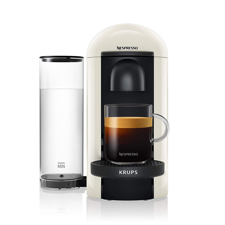 Krups 네스프레소(Nespresso) 버츄오 플러스 Vertuo Plus 캡슐 커피머신, 화이트 XN9031