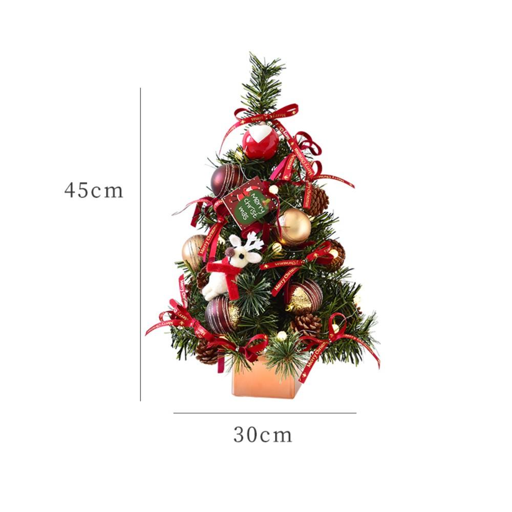 미니 크리스마스 트리 세트, 45cm 꽃장식피우기/0.6kg