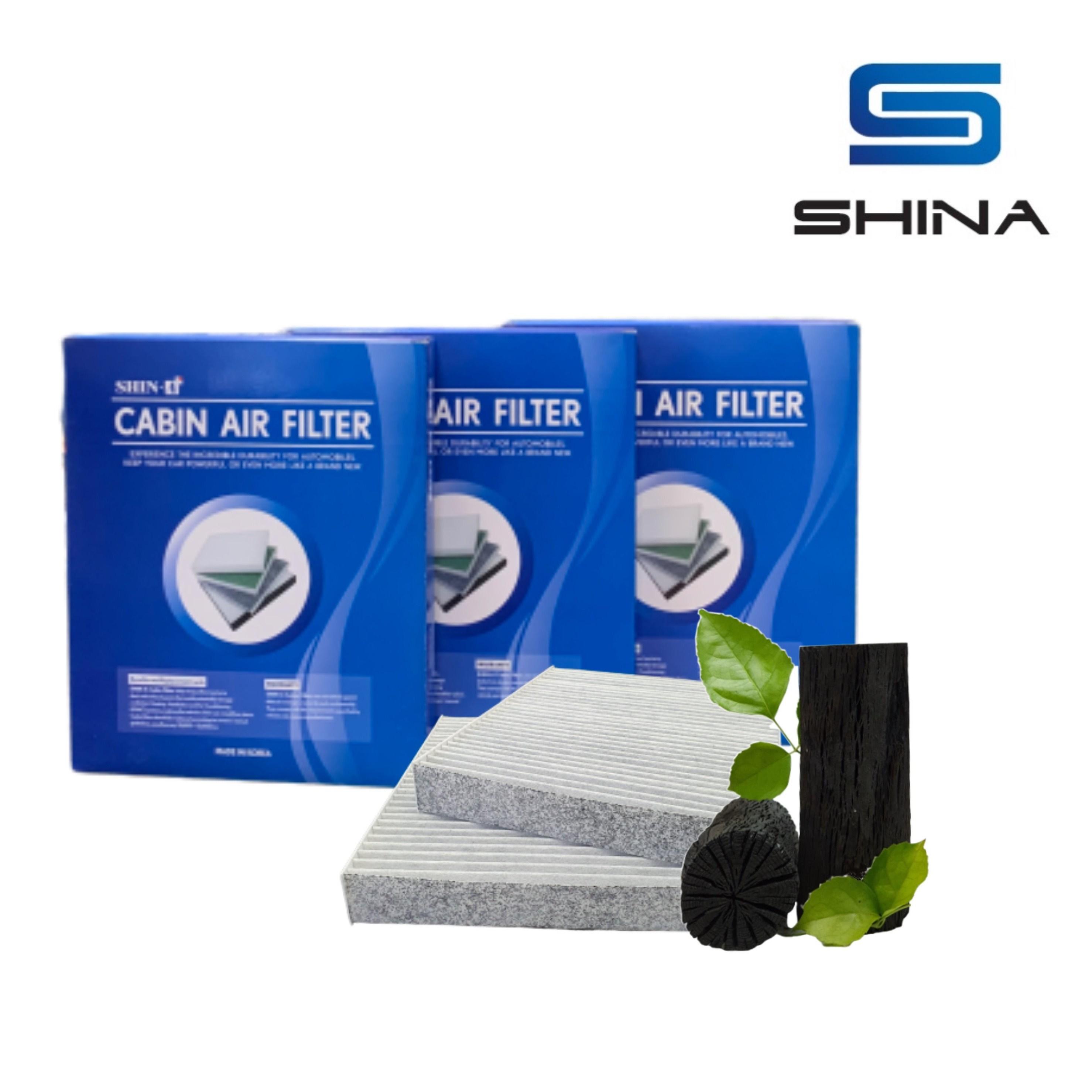 (기아) [1+1+1] 신아 PM2.5 자동차 에어컨 활성탄필터, 3개입, K3 / K3디젤