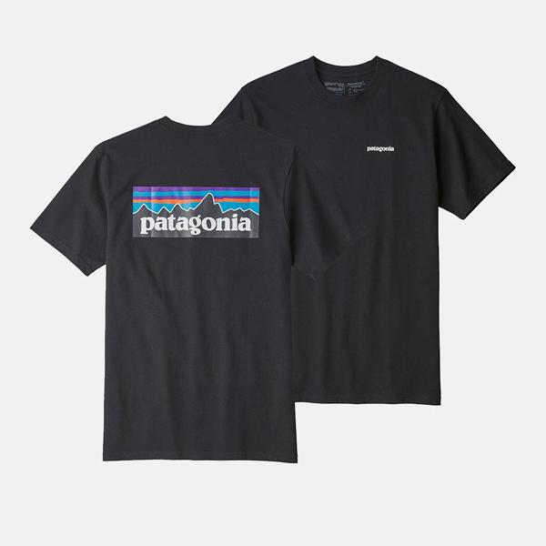 파타고니아 남성용 p-6 반팔 티셔츠