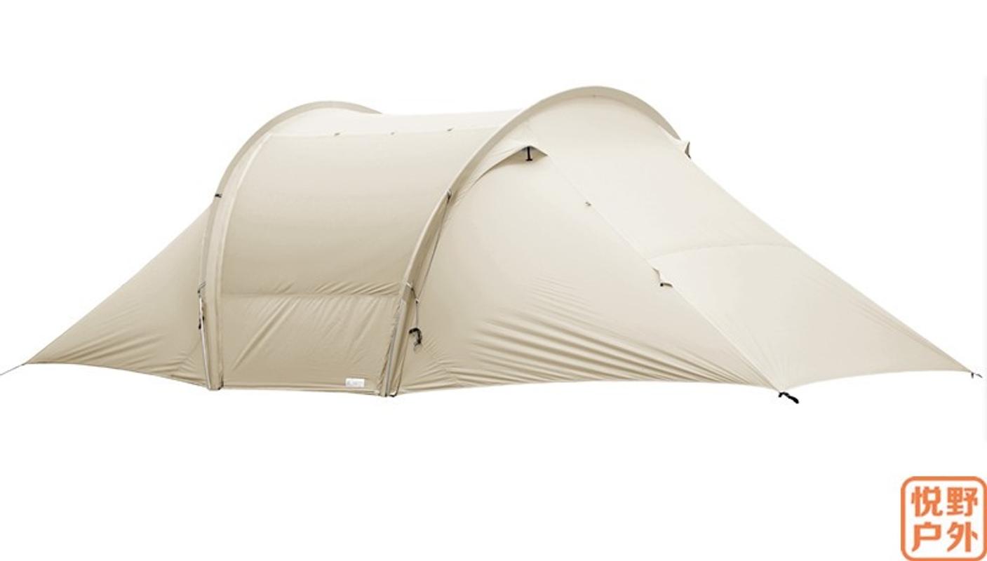 그늘막 텐트 거실형 차박 절묘한 캠핑 자유 영혼 Yuntu 터널 감성 캐노피 접이식 천막, 70D 카키 델리 케이트 에디션-18-5802480756