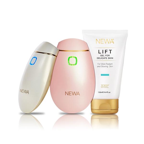 기타 [NEWA] 뉴아 가정용 고주파 주름개선 피부관리기 의료기기, 핑크