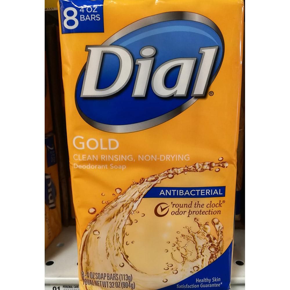 Dial Gold Deodorant antibacterial soap bar 32oz(904g) 8