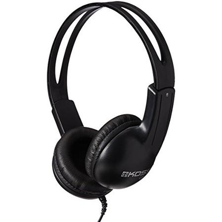 미국직배송 헤드폰 헤드셋 Koss UR10i 경량 가벼운 헤드폰 블랙 70101, Black_One Size, 상세 설명 참조0, Black