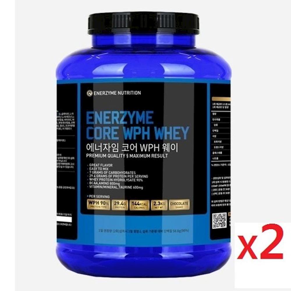 헬스 단백질 보충제 근육 발달 WPH 웨이 2.3kg 2통 여자쉐이크 몬스터밀크 체중조절식품, 1개, 상세페이지참조()