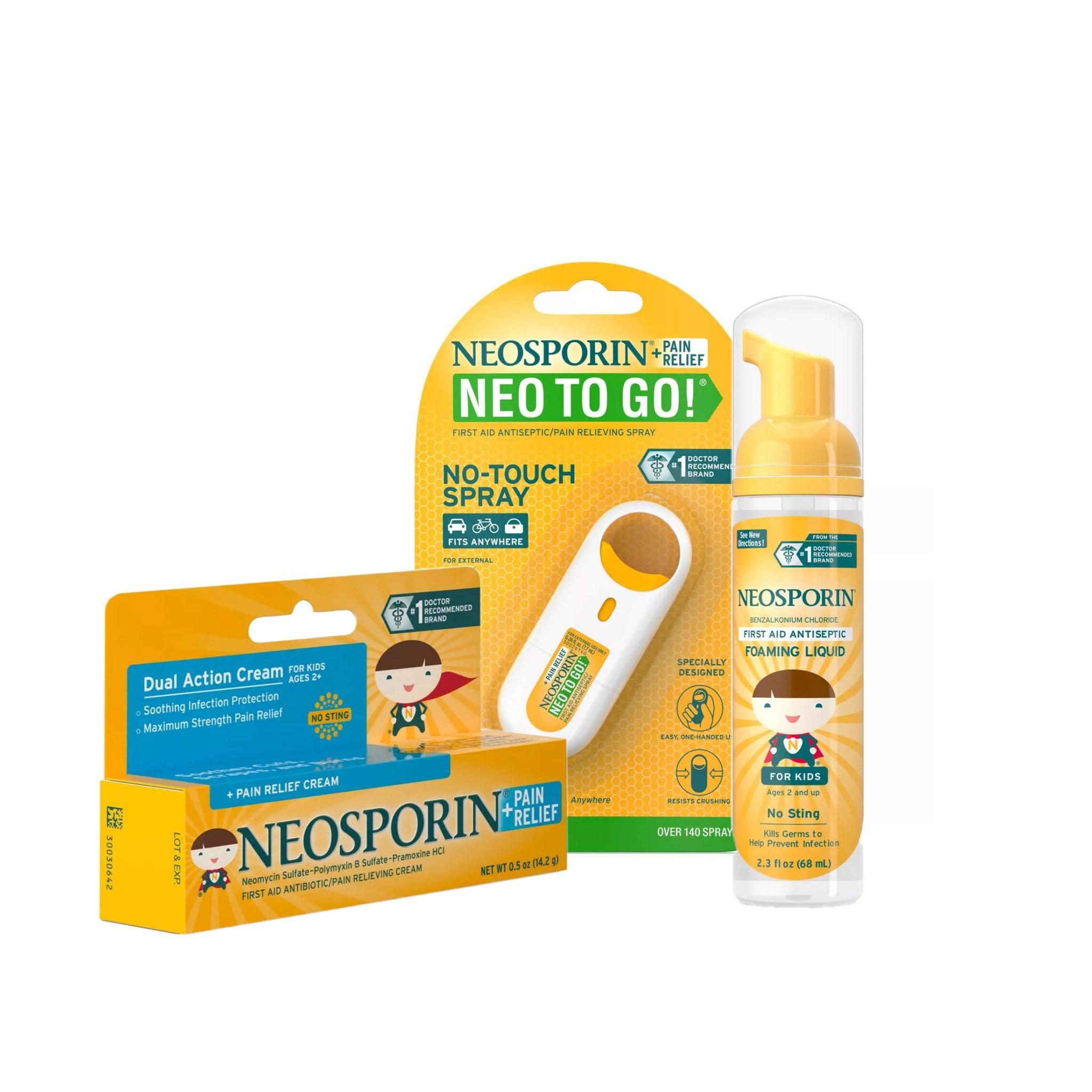 [미국직배송-PRIMO]네오스포린 항균 치료 키즈용 연고 3set(2살부터)/Neosporin Antibiotic Cream for Kids 3set (POP 4784255772)
