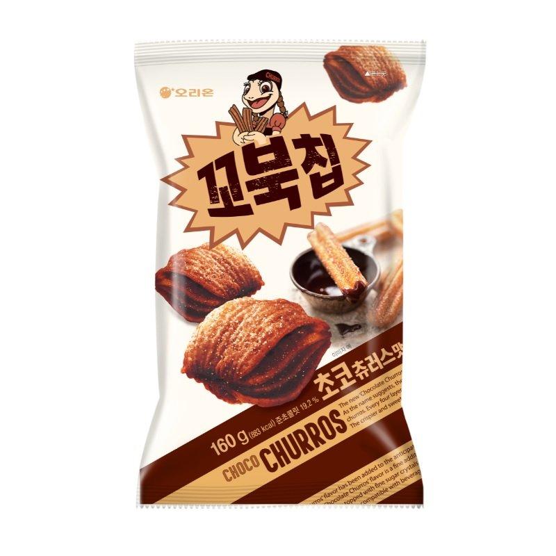 오리온 꼬북칩 초코츄러스맛 160g x2, 1세트