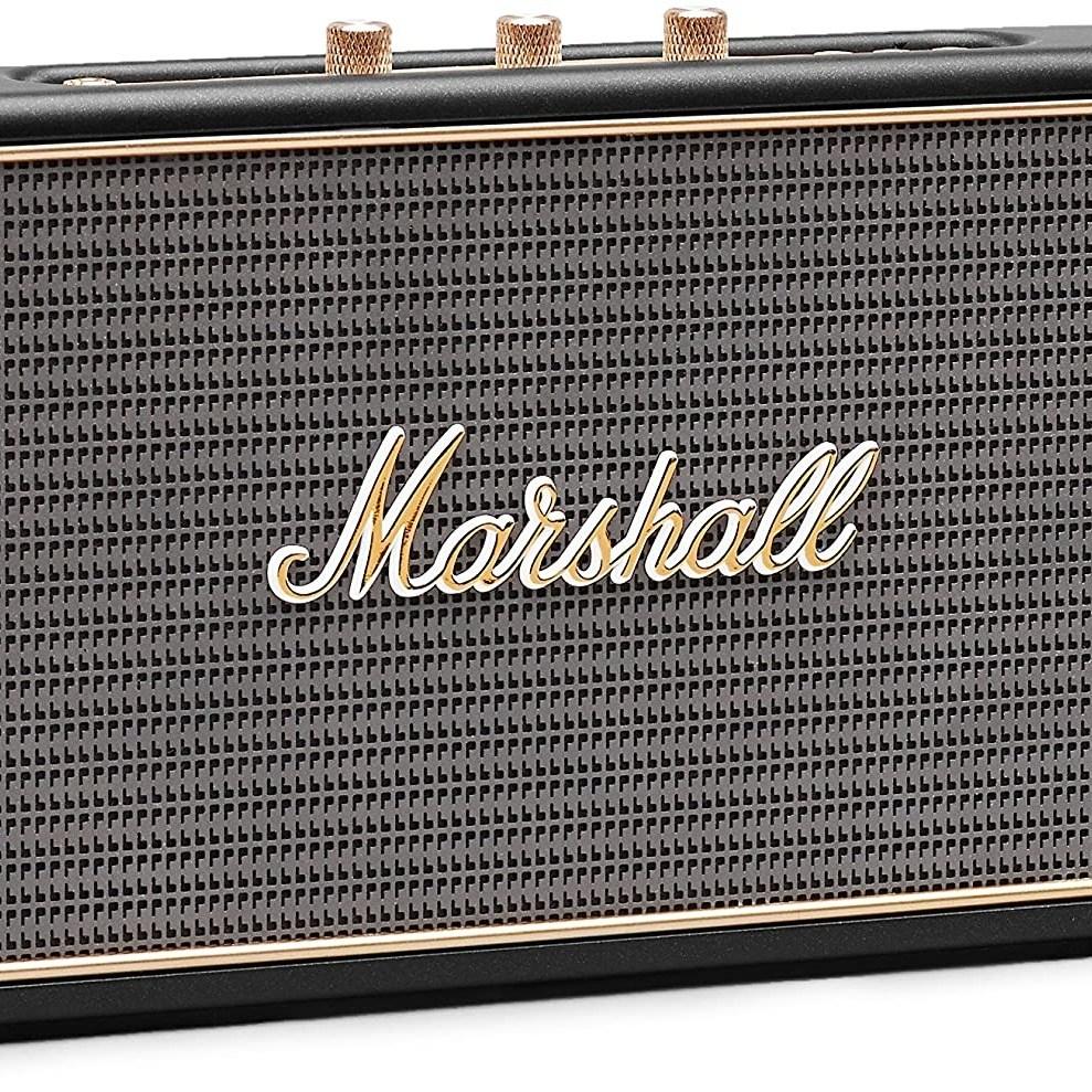 Marshall 마샬스피커 스톡웰 Stockwell Portable Bluetooth Speaker 블루투스 스피커, 블랙