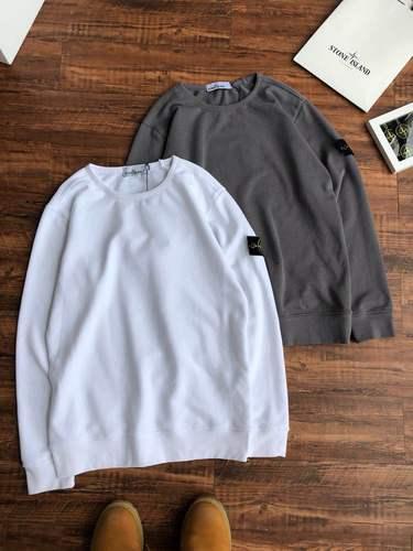 해외 남녀 로고와펜 스톤 아일랜드 맨투맨 패치로고 남성용 20SS Stone Island 긴팔 티셔츠 완장