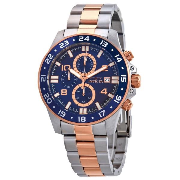 [30711] Pro Diver Chronograph Quartz Blue Dial Men's Watch 30711
