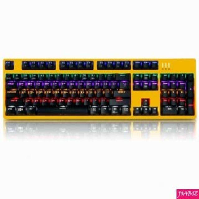 총알무료배송] K660 축교환 게이밍 카일광축 옐로우리니어 PC디지털기기 PC키보드 멀티키보드, 본상품_단일상품입니다, 상세설명을 참조해주세요