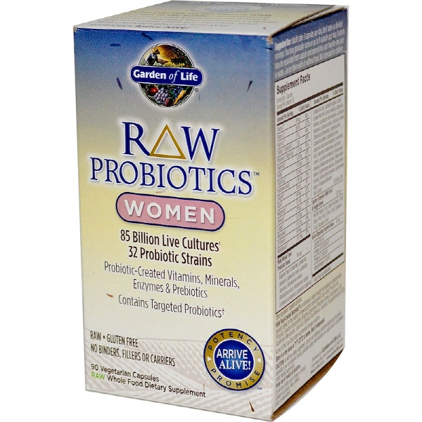 가든오브라이프 프로바이오틱스 여성용 질유산균 90개, 1개