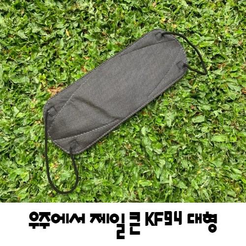 KF94 KF80 특대형 마스크 블랙 화이트 10매, KF94화이트 대형