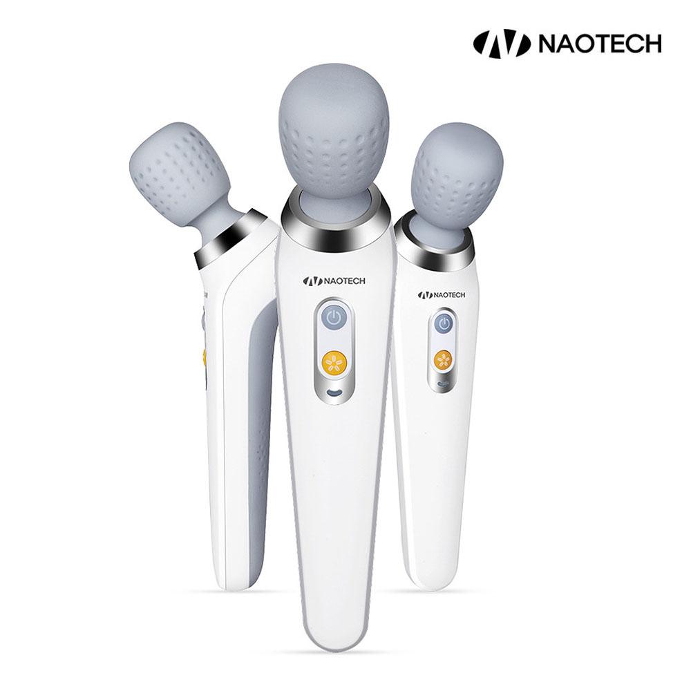 나오테크 무선진동 핸드안마기 NAO-H5600 충전식 미니안마기 휴대용안마기