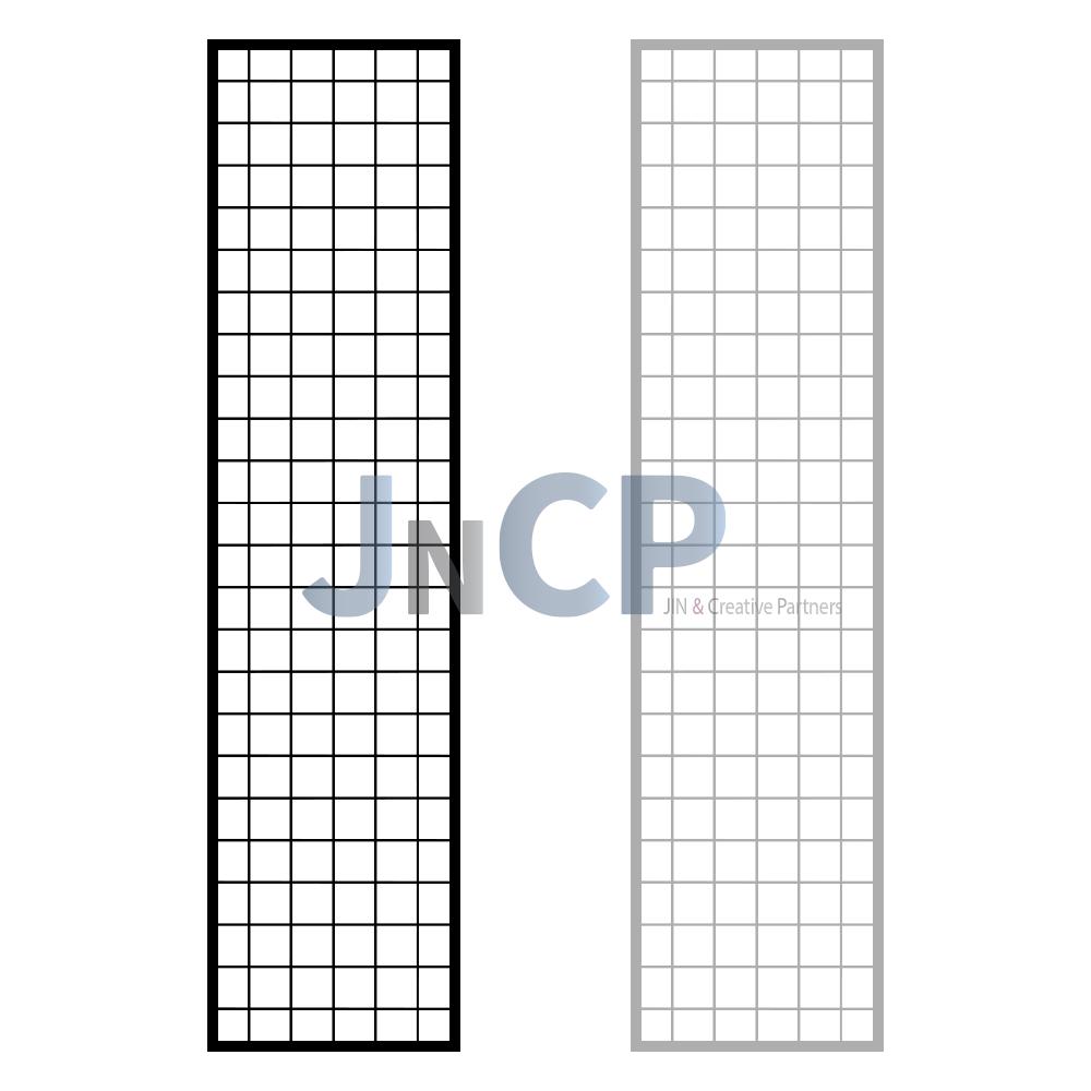 JNCP 휀스망 30x120cm 메쉬망 네트망 철망 악세사리진열대 방묘 후크, 1개