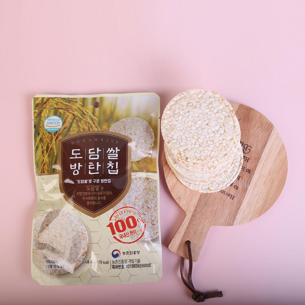 당뇨 간식 쌀과자 다이어트 간식 렌틸콩 도담쌀 방탄칩 현미칩 칼로리낮은 다이어트 음식 당뇨 과자