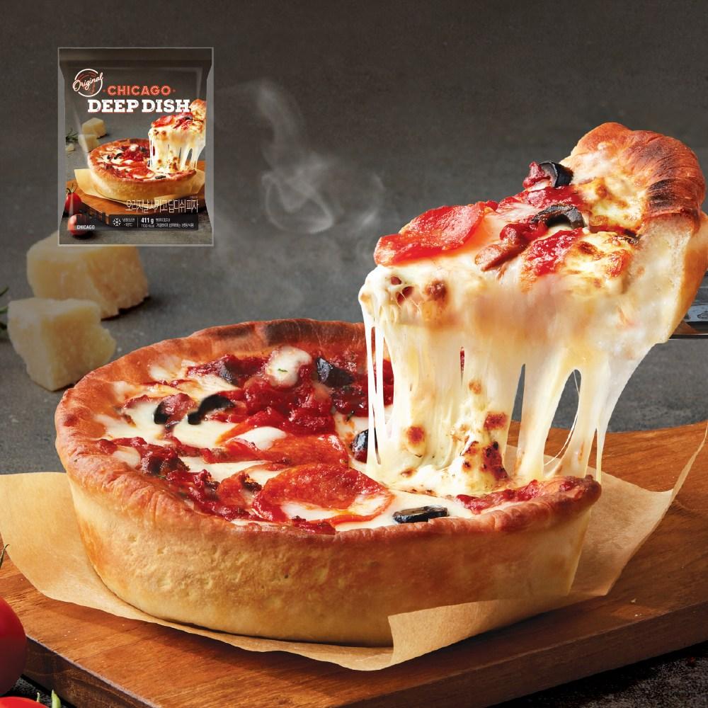 애슐리 딥디쉬 피자 3종, 오리지날 시카고 딥디쉬 피자