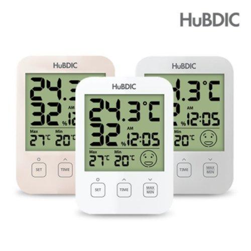 [텐바이텐] 휴비딕 디지털 온습도계 HT-7 시계 아이콘 표시_(1379737), 옵션선택, 1) HT-7 화이트
