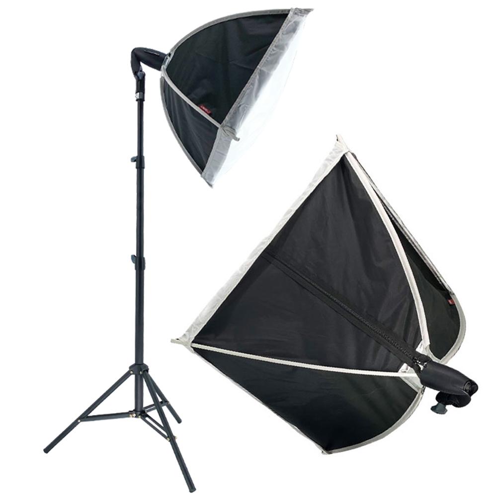 비상 스튜디오 유튜브 개인 촬영 방송 사진 카메라 조명 소프트박스60+삼각대