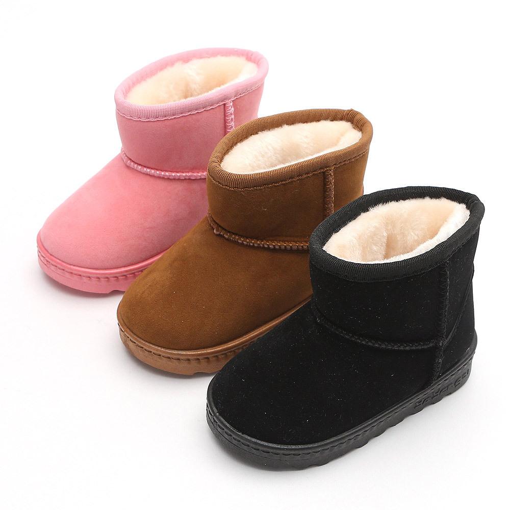 아이젬 양털로우부츠 140-210 유아 아동 키즈 남아용 여아용 겨울 양털 털신 방한 부츠 신발