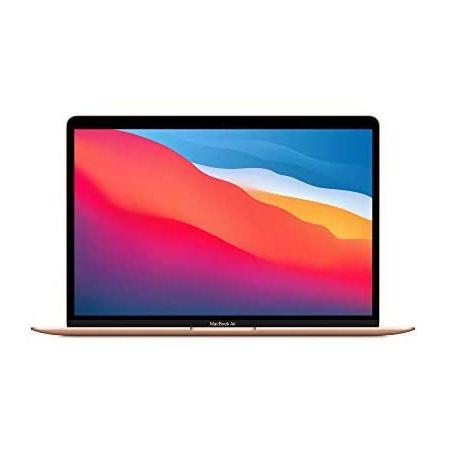[아마존베스트]New Apple MacBook Air with Apple M1 Chip (13-inch 8GB RAM 256GB SSD Storage) - Gold, 상세 설명 참조0, 상세 설명 참조0, 상세 설명 참조0