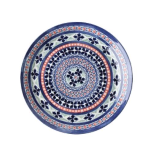 프라하 접시 블루 수입그릇 식빵접시 레트로그릇 명품그릇