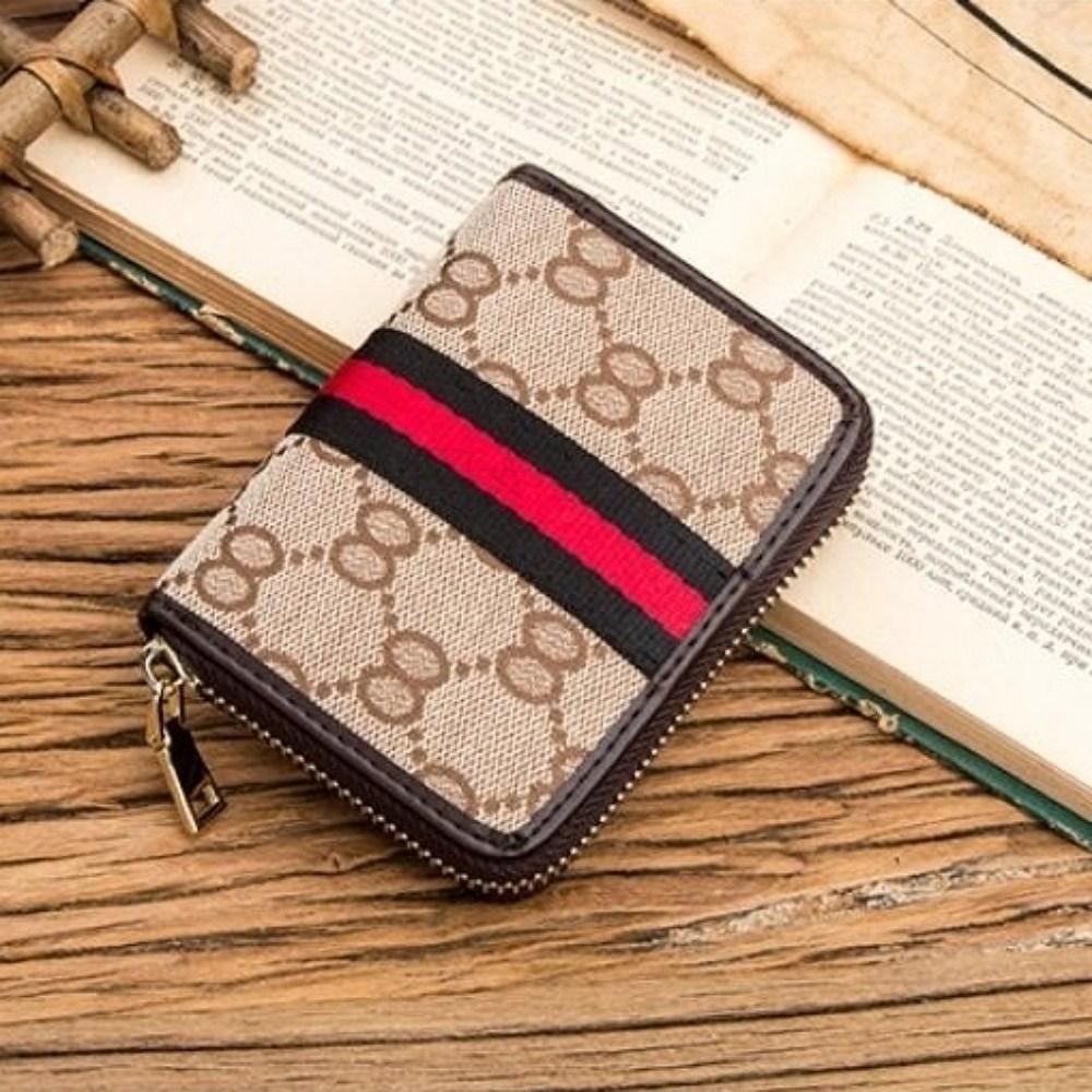 kirahosi 카드 명함 여권 명함 지갑 장지갑 지퍼 Ag6b4k