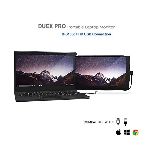 EOM Pro 업그레이드 된 휴대용 모니터 12.5 Full HD IPS 디스플레이 USB A Type-C 전원 듀얼 스크린 모니터 - E0259084GFNMD74, 기본