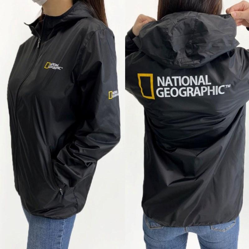 내셔널지오그래픽 바람막이 점퍼 아웃도어 윈드러너 빅사이즈 남녀공용 단체티 티셔츠 커플룩