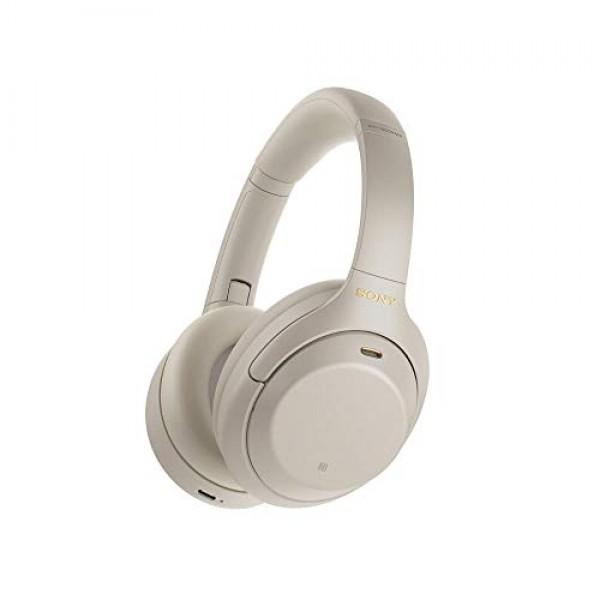 Sony WH-1000XM4 무선 Bluetooth 노이즈 캔슬링 헤드폰 (30 시간 배터리 터치 센서 Headphones Connect 앱, 단일상품