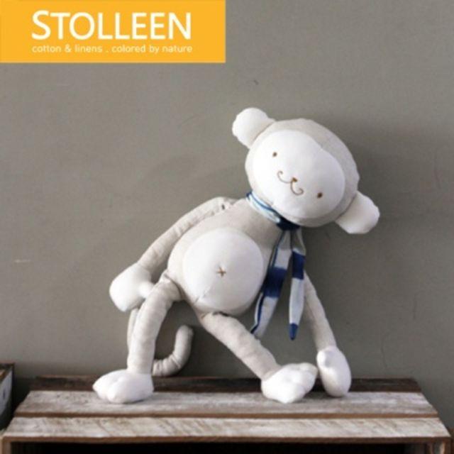 [천삼백케이] [슈톨렌] [슈톨렌 STOLLEEN] 원숭이 애착인형, 단품