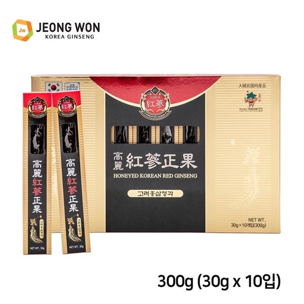 정원고려인삼 고려홍삼정과 300g (30g x 10본)