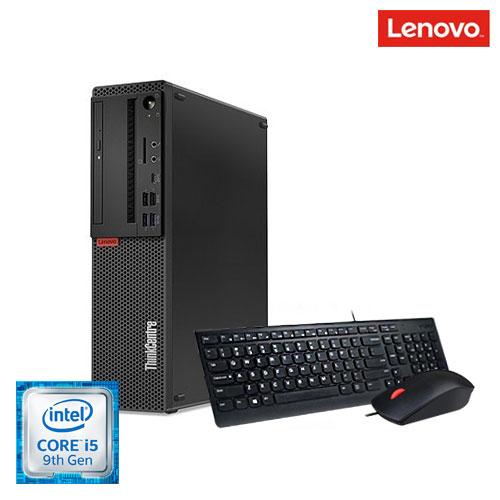 레노버 최신 9세대 코어i5 슬림컴퓨터 + 정품 USB 키보드. 광마우스 M720s SFF (인텔 코어i5-9400 (2.9GHz) DDR4 8GB HDD 1TB, 포함