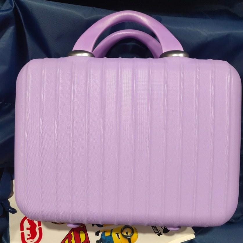 스벅 서머레디백 스타일 기내용 미니 캐리어 가방