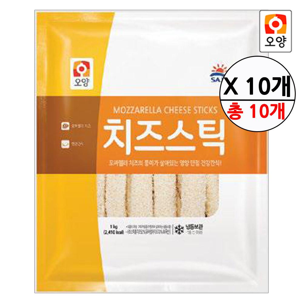 [퀴클리몰] 사조오양 치즈스틱 1kg 10개