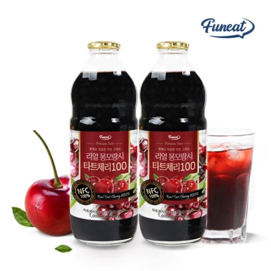 퍼니트 NFC착즙 몽모랑시 타트체리 주스 원액 2병, 단품