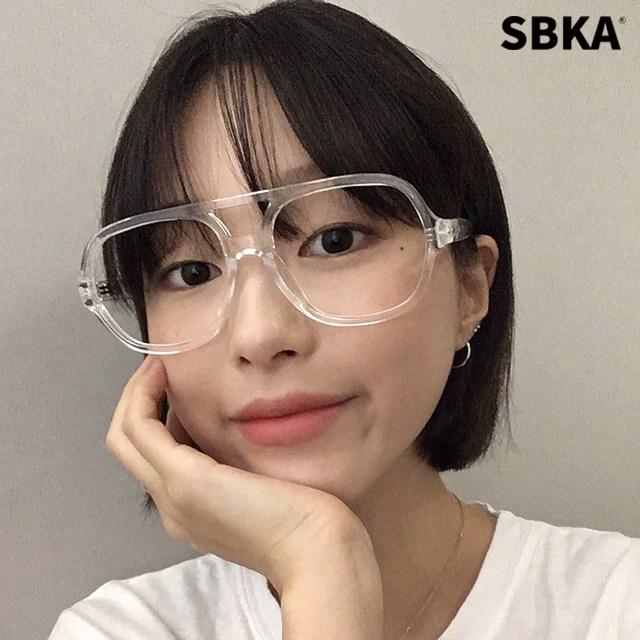 에스비카 SBKA Slam 투명뿔테안경