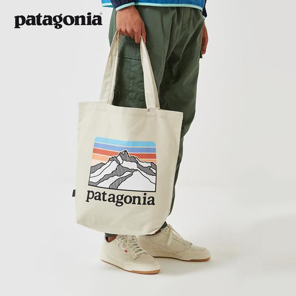 파타고니아 에코백 마켓 토트 캔버스백