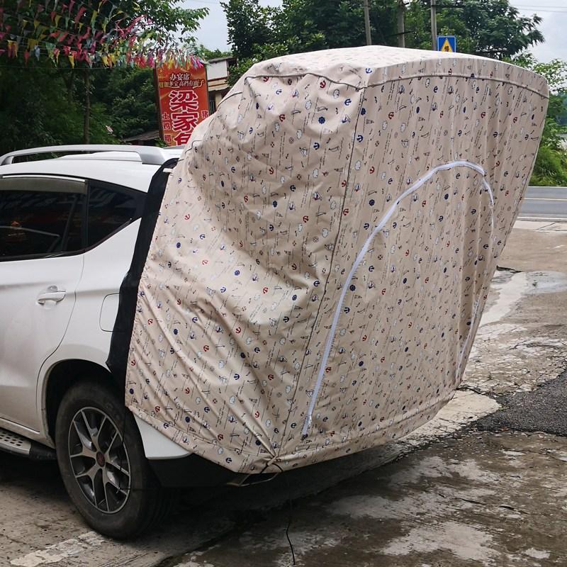 해외 차박 텐트텐트 야외 캠핑카 간편판 방수 SUV 천장 루프-11674, 단일옵션, 옵션01