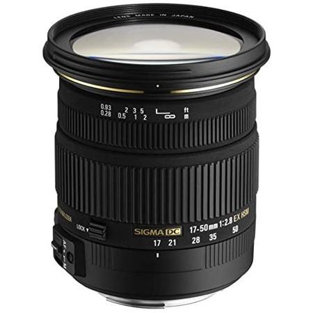 해외1465502 Sigma 17-50mm F2.8 DC OS HSM Large Aperture Standard Zoom 줌 렌즈 for Sony 소니 디지털, One Color_Sony Digital SLR Ca, 상세 설명 참조0, Sony Digital SLR Cameras