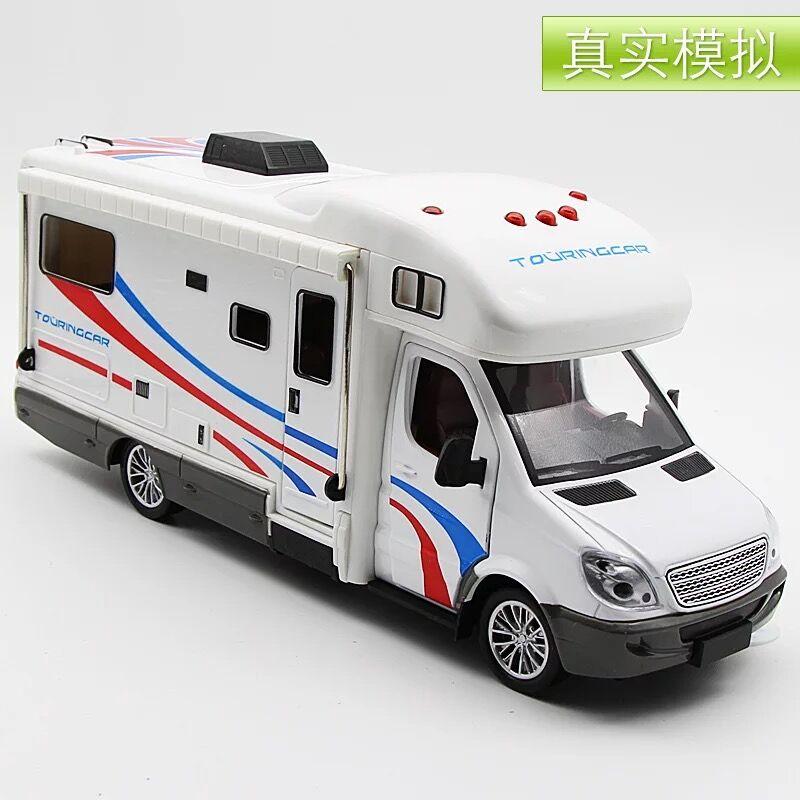 바퀴달린집 여행을떠나요 캠핑카 카라반 모형 미니어쳐 자동차 피규어, 캠핑카개
