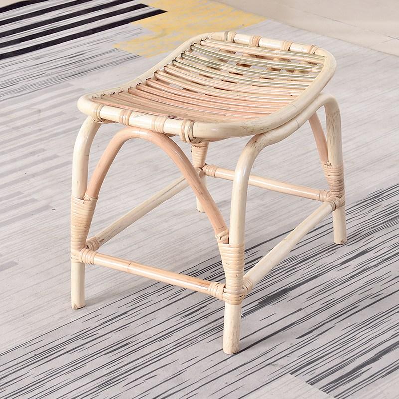 북유럽 친환경 라탄 미니스툴 의자, 라탄스툴
