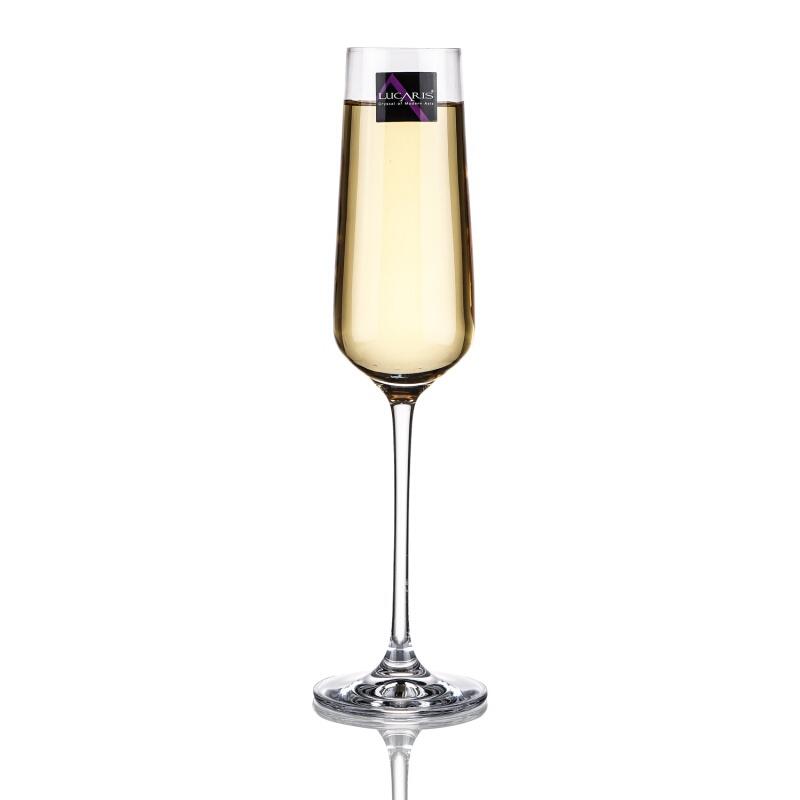 루 카 리 스 크 리 스 탈 유리잔 높 은 발 흰 포도 잔 샴페인 글라스 기포 잔 칵테일 잔 가 용 홍콩 시리즈 샴페인 글라스 270 ML